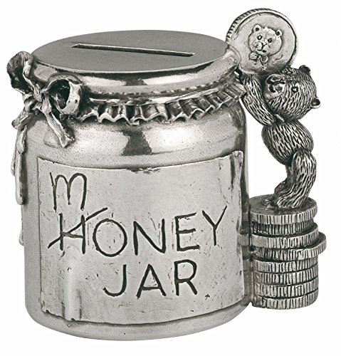 Royal Selangor 016502r Coinbox Geld Jar, Zinn