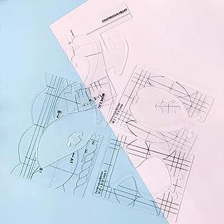 NEERIX Free Motion Règles pour matelassage série 4 pour simple Meander