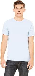 Bella 3001 Unisex Jersey Short Sleeve Tee - Light Blue, Medium