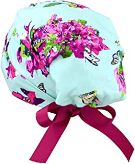 Womens Surgical Scrub Hat Adjustable Small to Medium (Enchanted)