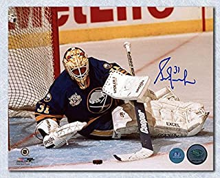 GRANT FUHR Buffalo Sabres SIGNED 8x10 Photo - Autographed NHL Photos