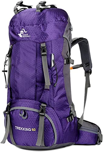 ATLD Sac à Dos De Randonnée 50L & 60L Camping en Plein Air Sac d'escalade Imperméable Alpinisme Randonnée Sac à Dos Molle Sport Sac à Dos