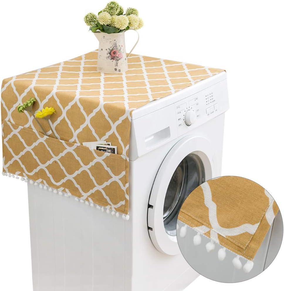 Cubierta Polvo Refrigerador,Cubierta Polvo Lavadora,funda de lavadora,guardapolvo lavadora
