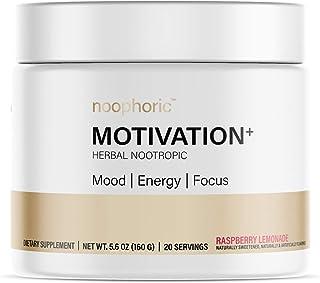 Noophoric Motivation+ Herbal Nootropic Brain Boosting Supplement | Improves Mood, Energy & Focus with Ashwagandha, Lion's ...