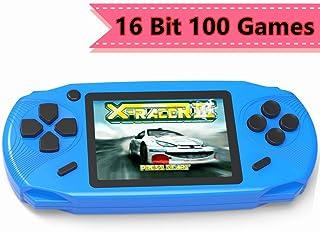 ZHISHAN Consola de Juegos Portátil para Niños con Construido en 100 Classic Video Juegos Sistema 3.0
