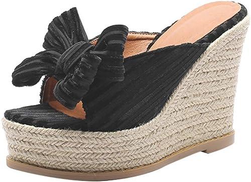 Sandales Chaussures et et et Sacs Chaussures Chaussures Femme Femme Compensées VêteHommests pour Femmes Pantoufles D'été Talons Hauts Chaussures De Plate Forme épaisses Imperméables à L'e 93c