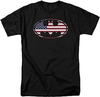 american flag batman logo