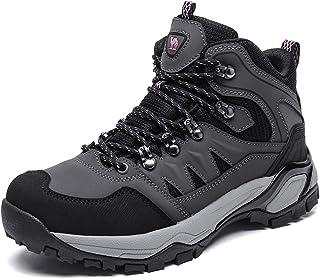 CAMEL CROWN Mid Hiking Boots Women Outdoor Lightweight Non-Slip Work Boots Backpacking Trekking Walking Trails
