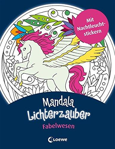 Mandala-Lichterzauber - Fabelwesen (Mein Bildermaus-Memo)