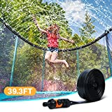 Ligttle Trampoline Sprinkler for Kids - Outdoor Trampoline Water Sprinkler for Kids and Adults, Trampoline Accessories Sprinkler 39ft Long for Water Play, Games, and Summer Fun in Yards