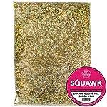 SQUAWK Duck & Goose Mix   Premium Grade Wild Bird Food   Tasty Outdoor Wildlife Snack   Nutritious, Protein-Rich Feed   Naturally Blended Ingredients   Corn, Grains, Wheat, Oils, Vitamins