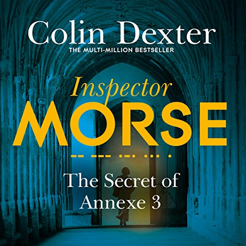 The Secret of Annexe 3     Inspector Morse Mysteries, Book 7              By:                                                                                                                                 Colin Dexter                               Narrated by:                                                                                                                                 Samuel West                      Length: 7 hrs and 11 mins     50 ratings     Overall 4.4