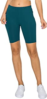 """YourStyle USA Women's Biker Shorts - High Waist 7"""" Yoga Athletic Active Stretch Workout Running Gym Sports Pants Tights"""