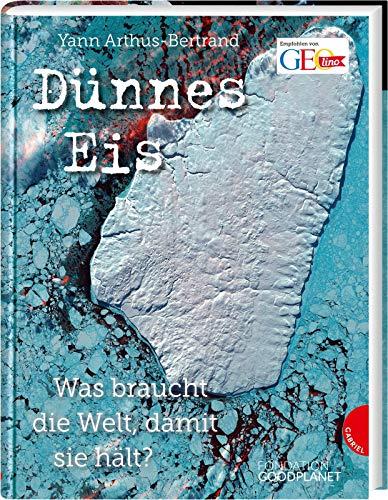 Dünnes Eis: Was braucht die Welt, damit sie hält?   Sachkunde zu 16 Umweltthemen, beeindruckende Satellitenbilder, Sachbuch für Kinder ab 10 Jahren