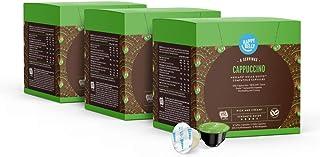 Happy Belly - Cappuccino Capsules de Café Compatibles avec NESCAFÉ Dolce Gusto - 48 Capsules (3 Paquets x16) (24 portions)