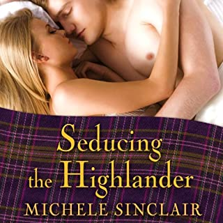 Seducing the Highlander audiobook cover art