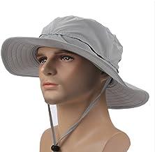 YYGIFT Unisex Wide Brim Sun Caps Sunblock Foldable Fishing Hiking Hunting Outdoor Hats UPF50+ Sun Protective Hats