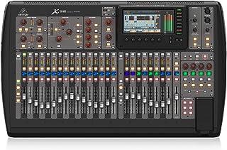Behringer X32 mezclador DJ - Mezclador para DJ (24 Bit, 10-22000 Hz, 0,006%, 6,3 mm, 90 cm, 52,8 cm) Negro