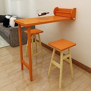 DESK Table de Bar Pliante Armoire de Séparation Des Ménages Table de Salon Murale Rétractable Table de Salle À Manger Simp...