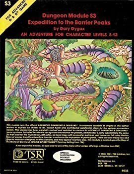 S3 Expedition to the Barrier Peaks - Book  of the Advanced Dungeons and Dragons Module #C4