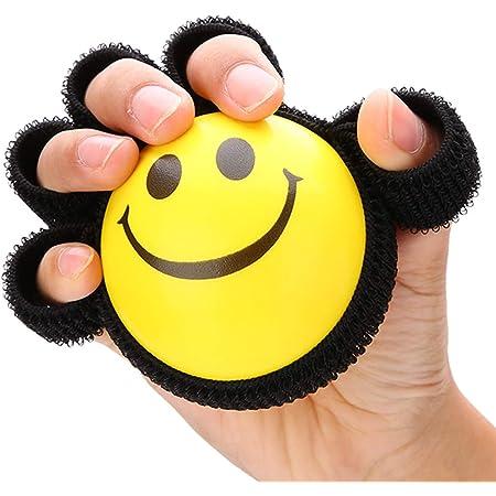 Hand Grip Ball Finger Practice Exercise Power Rehabilitation Training Grip-HTjb