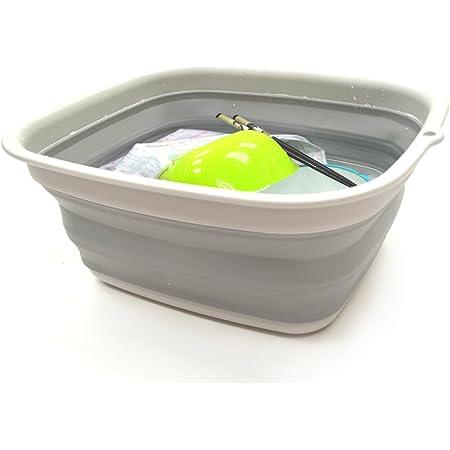 Cubo Plegable de Silicona 10L Balde de Agua Inodoro para Campping Limpiar Pescar Barre/ño Flexible para Viaje Playa