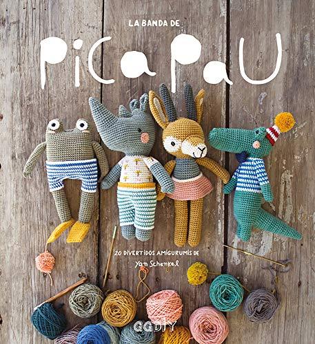 La banda de Pica Pau. 20 divertidos amigurumis (GGDiy