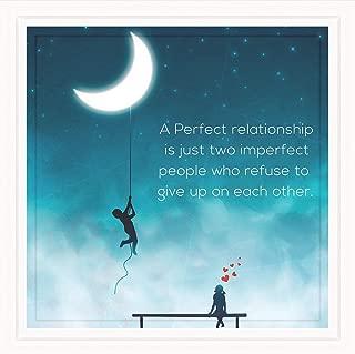 Hopeful Bay Couples Gifts | 7X7 Tile Artwork | Romantic Girlfriend & Boyfriend Present | Gift for Couple Anniversary | Relationships Art Print for Men & Women | Great for Room Decor