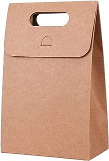 Bolsas Papel Kraft Bolsa Aislamiento t/érmico Reutilizable marr/ón Bolsa de Comida-Color marr/ón inherited Kraft bellamente Decoradas olsas de Regalo de Papel 31/×20/×11