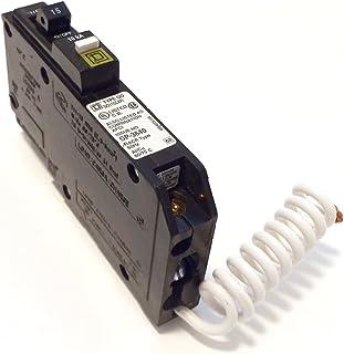 Square D by Schneider Electric QO115CAFI QO15A Arc Fault Breaker, Black