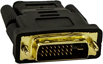 Fullink Gold-Plated DVI-D Dual Link Male to HDMI to Female Adapter - 4K Resolution Ready