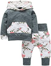Wang Xiang Toddler Baby Boys Girls Long Sleeve Pocket Hoodie Sweatshirt Pants Outfits Sets