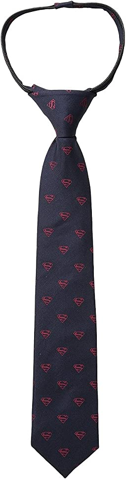 Cufflinks Inc. Classic Superman Shield Silk Tie (Toddler/Little Kid/Big Kid)