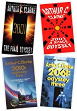 The Complete Arthur C. Clarke's Space Odyssey Series Books 1-4 (2001: A Space Odyssey, 2010: Odyssey two, 2061: Odyssey th...
