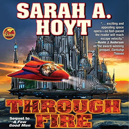 Through Fire audiobook cover art