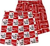 HANG OUT IN STYLE: Our Coca-Cola pajama boxer shorts are super stylish and collectible items. For any classic Coke lover in your life, these are the perfect and practical gift. These boxer shorts are versatile and great for lounging around the house ...