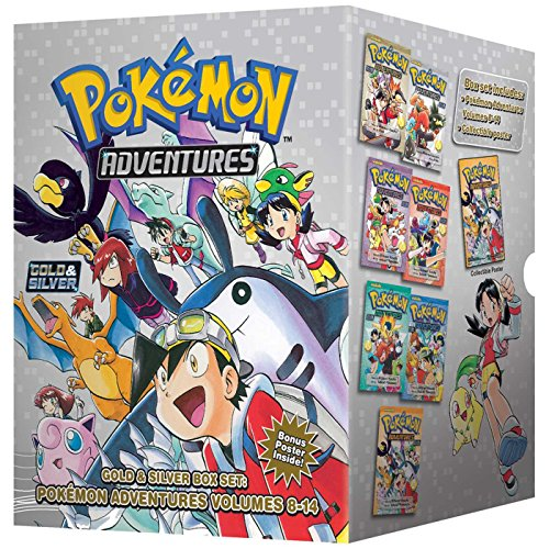 POKEMON ADVENTURES GN BOX SET VOL 02 GOLD SILVER