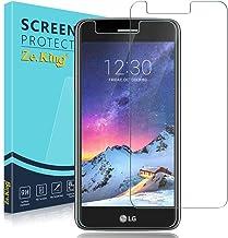 Zeking [2-Pack]LG K8 2017/ LV3/ LG Aristo M210/ LG Fortune Tempered Glass Screen Protector, Zeking 0.33mm 2.5D Edge 9H Har...