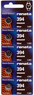 #394 Renata Watch Batteries 5Pcs