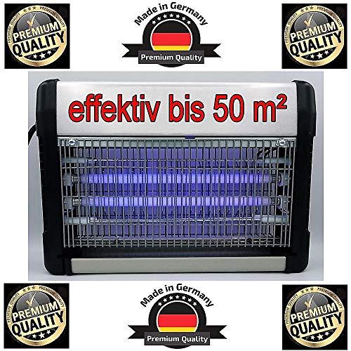 *Premium* Power Cudi Profi Insektenkiller bis 50m² Neustes Modell 2020 mit UV Lampe 20W inkl. Kette - Insektenvernichter - Elektrische Insektenfalle - Mückenkiller - Mückenlampe - gegen alle Insekten