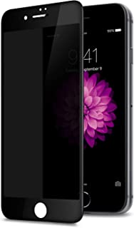 Anti-Spy Privacy Screen Protector, [Full Coverage] [Case Friendly] [Super Clear] Anti-Spy 9H Hardness Tempered Glass Scree...