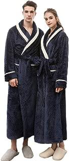 Clearance Sales Christmas Unisex Winter Plush Shawl Bathrobe Lengthened Thicken Kimono Robe Homewear Soft Sleepwear