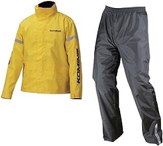 コミネ KOMINE バイク レインスーツ STD レインウェア GTX スプリーム レインウェア 雨具 防水 カッパ イエロー XL 03-543 RK-543