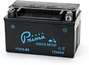 Scooter Battery, 12V TX7A-BS for Buddy 125, Vino 125, People S