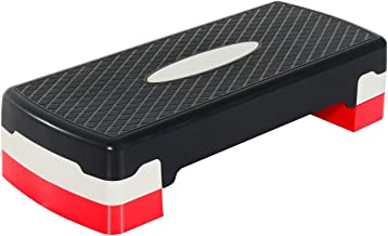 Fitness aerobic stepper plataforma step 3 regulable en altura