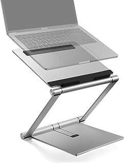 Laptop Stand, Multi-Angle Aluminum Ergonomic Foldable Laptop Riser, Adjustable Notebook Stand Holder for MacBook Pro/Air, ...