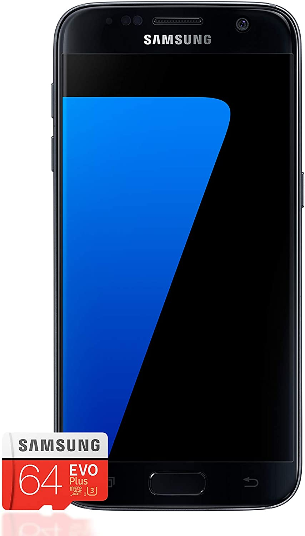 Samsung Galaxy S7 Smartphone Bundle 5 1 Zoll 32gb Interner Speicher Samsung Evo Plus 64gb Speicherkarte Deutsche Version Amazon De Elektronik Foto