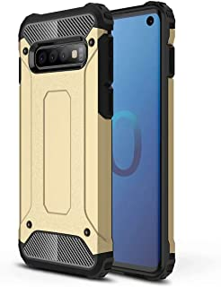 FanTing Case for LG W30 Pro, [ Shockproof] [Heavy Duty] [Tough Armoured] Generous Rugged Tough Dual Layer Armor Case, Four...