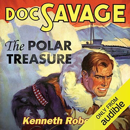 The Polar Treasure audiobook cover art