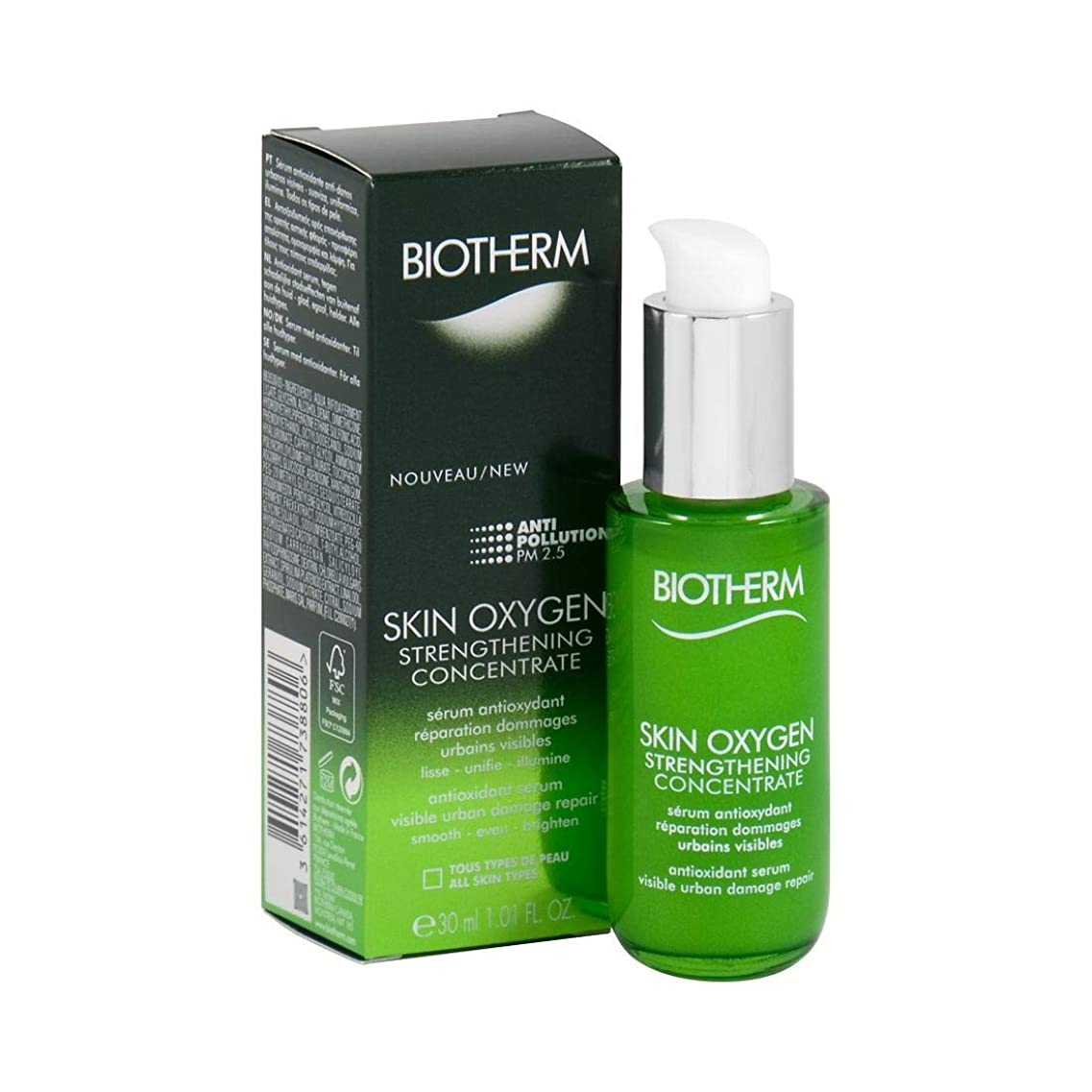 限りトラクターコンチネンタルビオテルム Skin Oxygen Skin Strengthening Concentrate 30ml/1oz並行輸入品